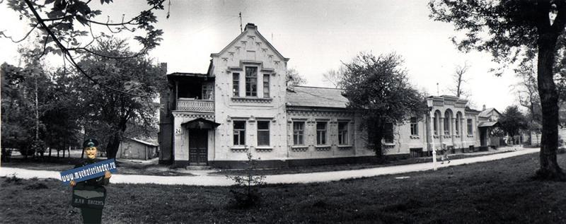 Краснодар. Дом архитектора В.А. Филиппова, конец 19 века (ул. Постовая, 24), 1988 год