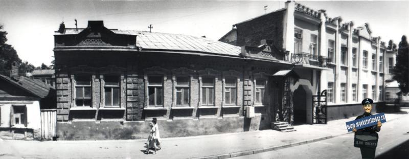 Краснодар. Орджоникидзе 13, 1988 год