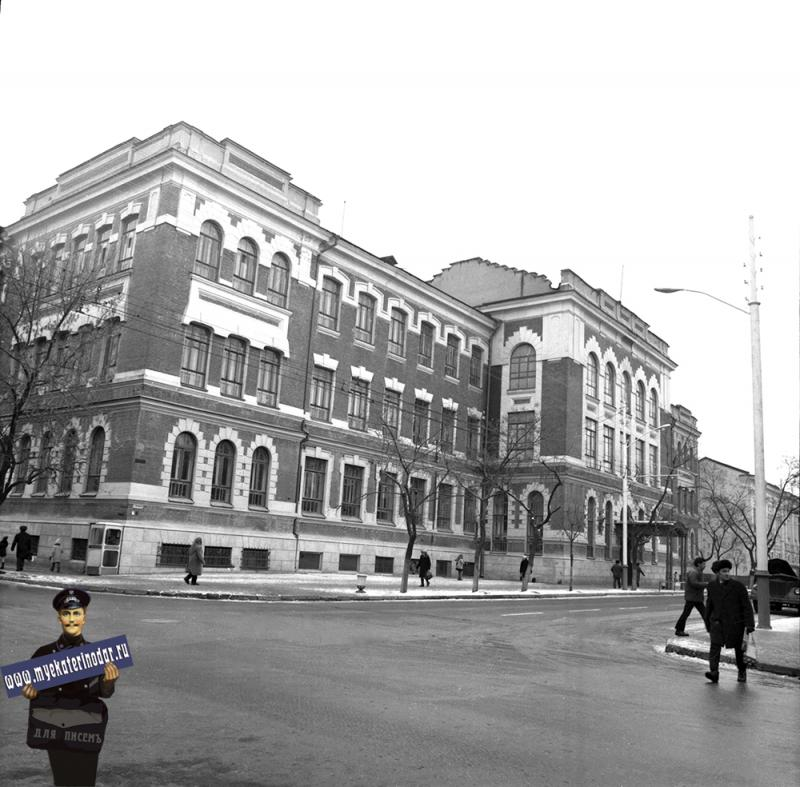 Краснодар. Дворец пионеров и школьников. 1974 год