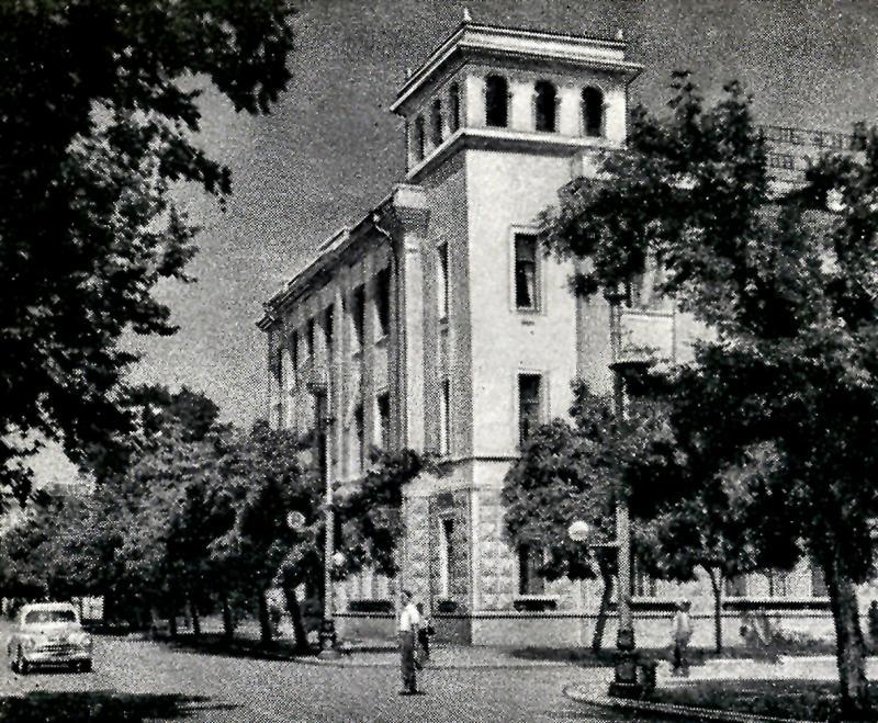 Краснодар. Угол улиц Красной и Пушкина