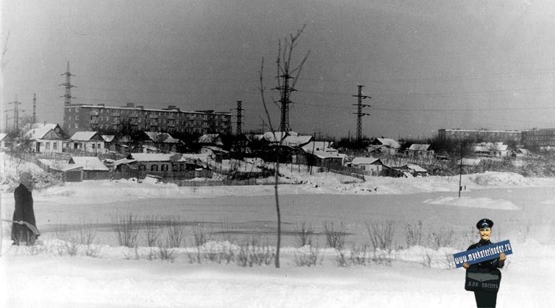 Краснодар. Карасун с ул. Мачуги, 1965 год