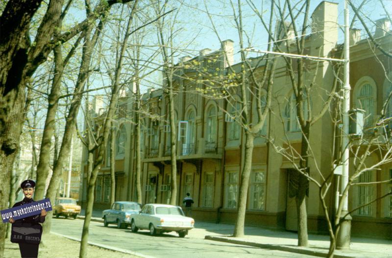 Краснодар. КПИ, Строительный факультет. 1988 год