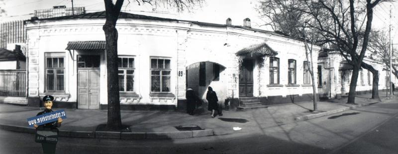 Краснодар. Красноармейская, 89, 1989 год