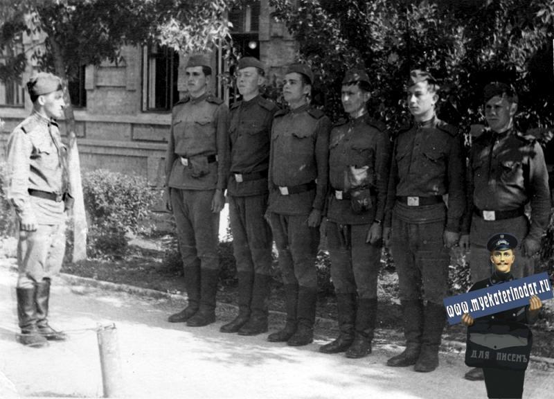 Краснодар. Краснодарское Военное Училище. 7 июля 1965 года