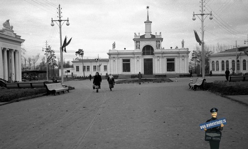 Краснодар. КСХПВ. Павильон Главпотребсоюза, ноябрь-декабрь 1956 г.