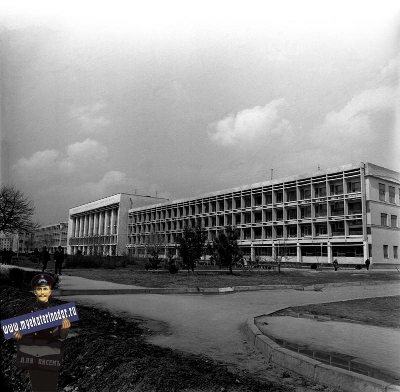 Краснодар. Кубанский Государственный университет, 1974 год.
