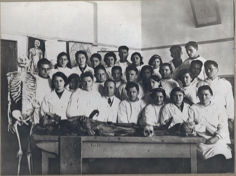 Краснодар. Кубмединститут, 1 января 1940 год.