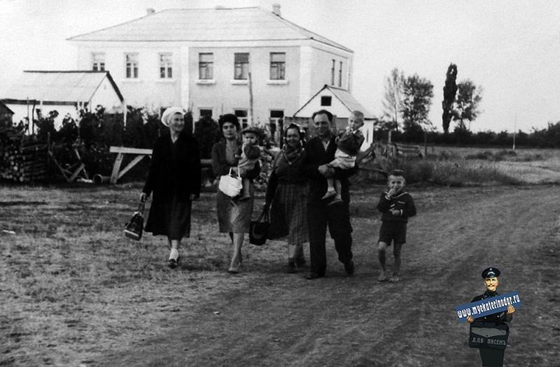 Краснодар. На месте будущего перекрестка ул. Тургенева и Атарбекова, 1961 год