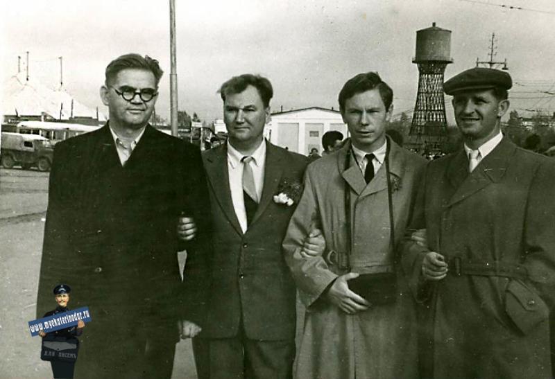 Краснодар. На ноябрьской демонстрации 1969 года