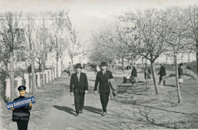 Краснодар. На ул. Шоссе Нефтянников, 1961 год.