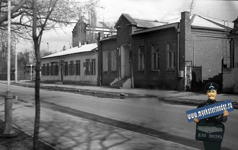 Краснодар. На улице Октябрьской, 1977 год.