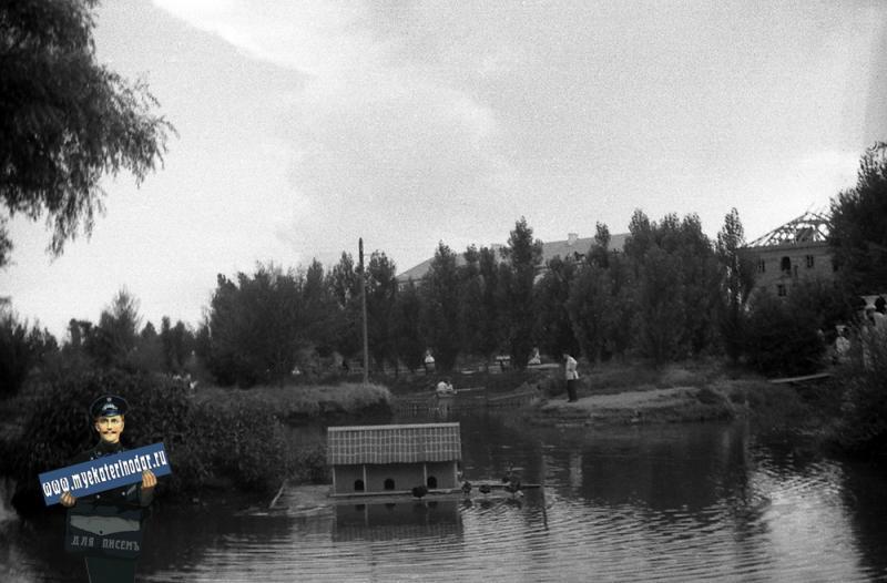 Краснодар. Октябрьским днём в Парке Горького