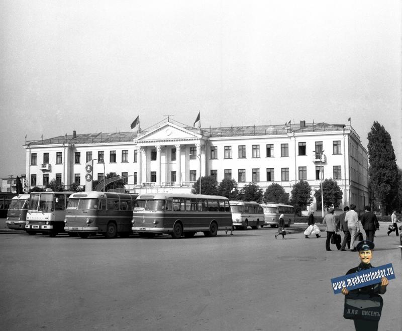 Краснодар. Отделение Северо-Кавказской железной дороги