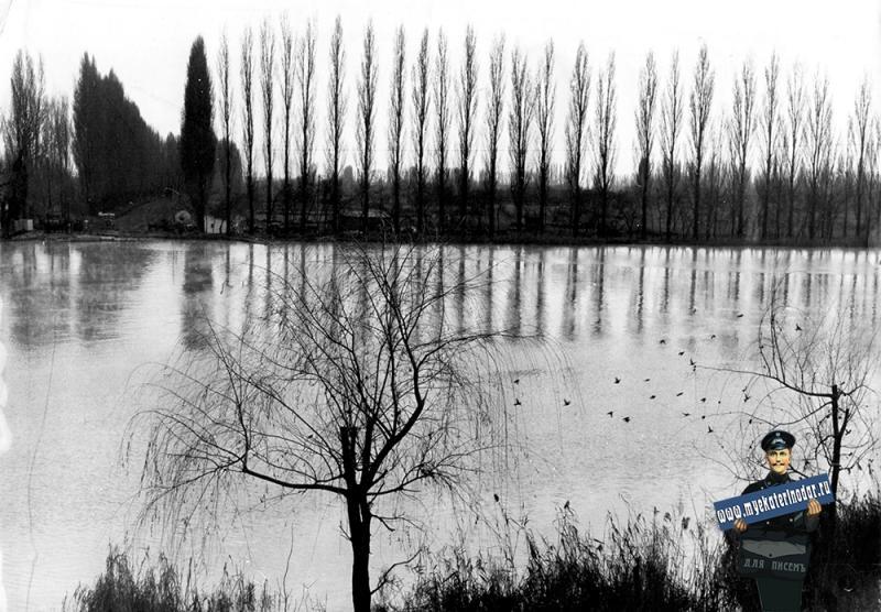Краснодар. Парк им. 40-летия Октября, 1965 год