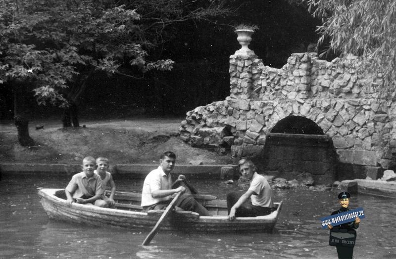 Краснодар. Парк им. М. Горьккого, 1960-е