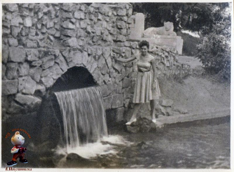 Краснодар. Парк им. М. Горького. У озера. 1961 год