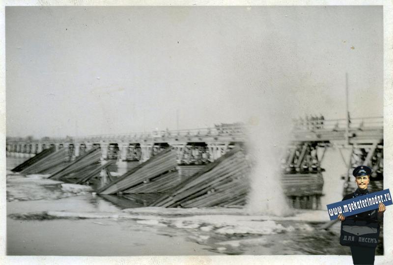Краснодар. Переправа, осень-зима 1942 года