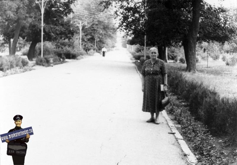 Краснодар. Первомайская роща, середина 1960-х годов