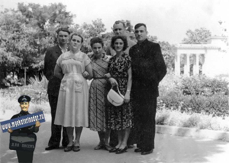 Краснодар. Первомайский сквер, 1950-е