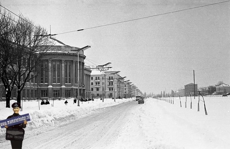 Краснодар. Институт пищевой промышленности, 1962 год