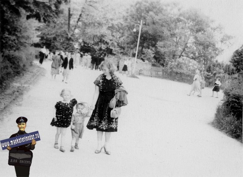 Краснодар. Помогите определить место, 1957 год.