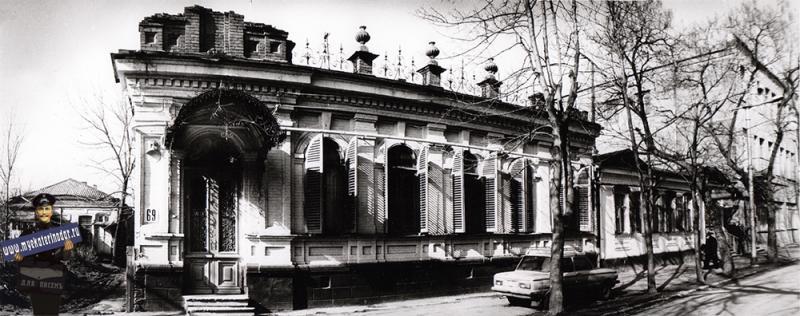 Краснодар. Шаумяна, 69, 1989 год