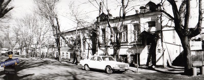 Краснодар. Улица Шаумяна, №80, 1989 год