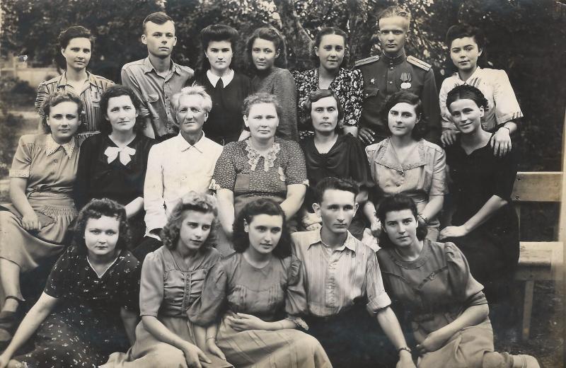 Краснодар. Школа рабочей молодёжи №2. 10 класс.
