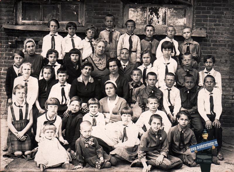 Краснодар. Школьники 4-го класса Школы №4, 20 июня 1934 года