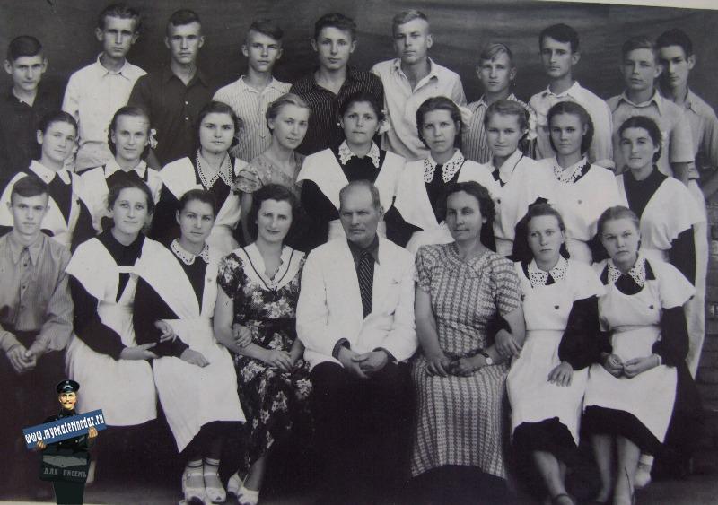 "Краснодар. Средняя школа № 30, 10 ""В"" класс"