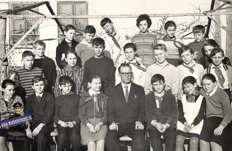 """Краснодар. СШ №30, 5 """"Г"""", 1965 год."""