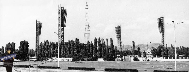 """Краснодар. Стадион """"Кубань"""", 1984 год."""