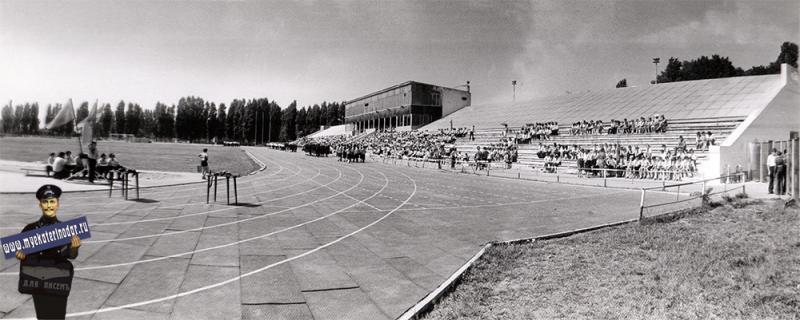 """Краснодар. Стадион """"Труд"""", 1984 год"""