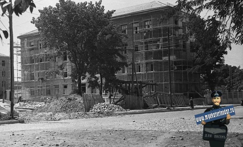 Краснодар. Строительство Дома Союзов