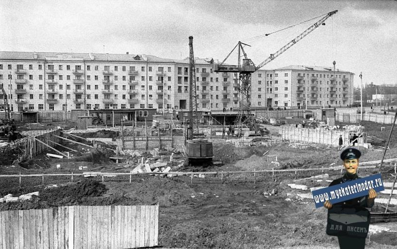 """Краснодар. Строительство кинотеатра """"Аврора"""""""