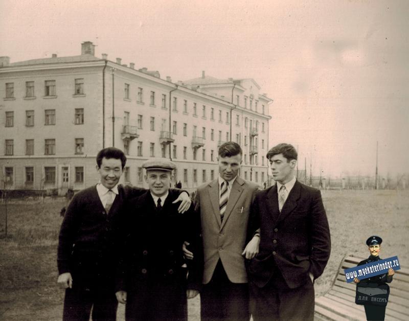 Краснодар. Территория КСХИ (КГАУ), начало 1950-х