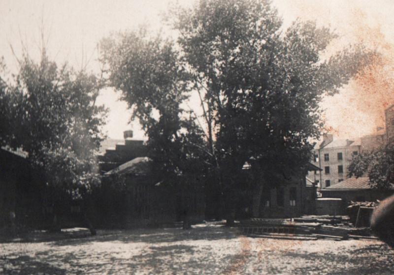 Краснодар. Двор Мединститута, 1931 год