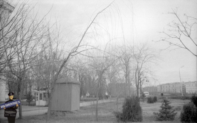 Краснодар. Угол Светлой и Красной, вид на север. 1969 год