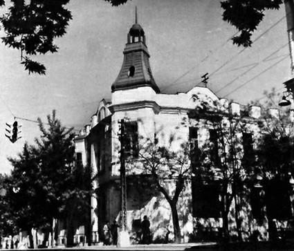 Краснодар. Угол ул.Красноармейская и Чапаева, 1965 год