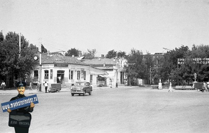 Краснодар. Угол улиц Красной и Дружбы