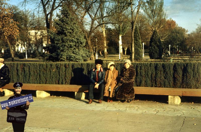 Краснодар. На улице Тельмана, 1982 год