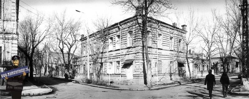 Краснодар. Улица Янковского 59 - Чапаева 113, 1989 год.