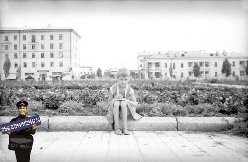 Краснодар. Улица Красная, 1958 год