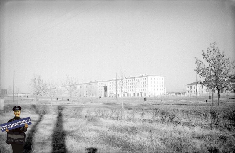Краснодар. Улица Красная, конец 1950-х годов