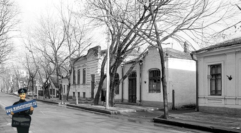 Краснодар. Улица Красная от Будённого. Вид на север