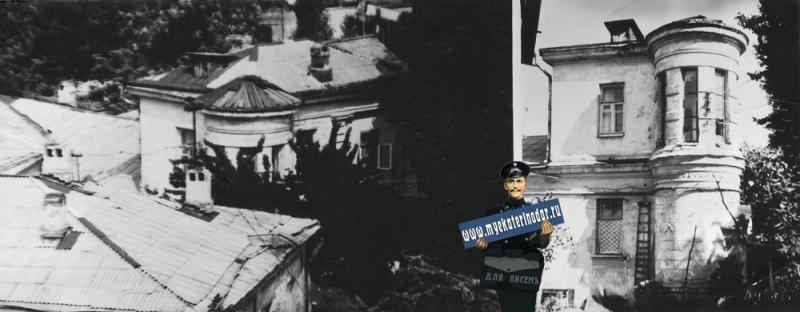 Краснодар. Улица Мира № 82. Бывший дом Акулова Ф.М. 1988 год.