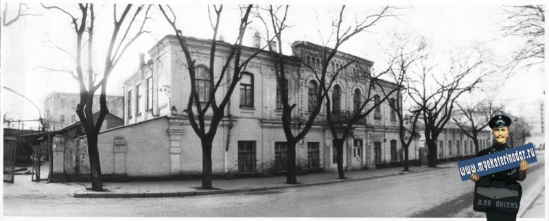 Краснодар. Улица Мира, дом 78. 1989 год.