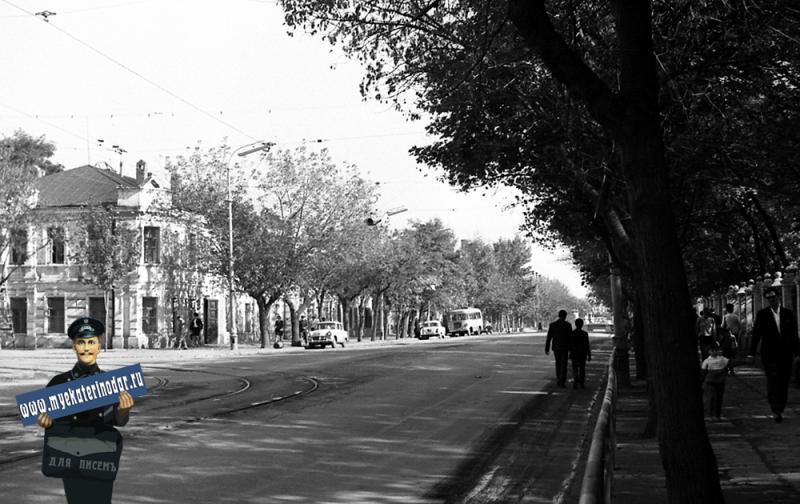 Краснодар. Улица Тельмана