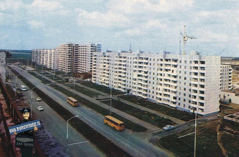 Краснодар. Улица Тюляева, 1983 год