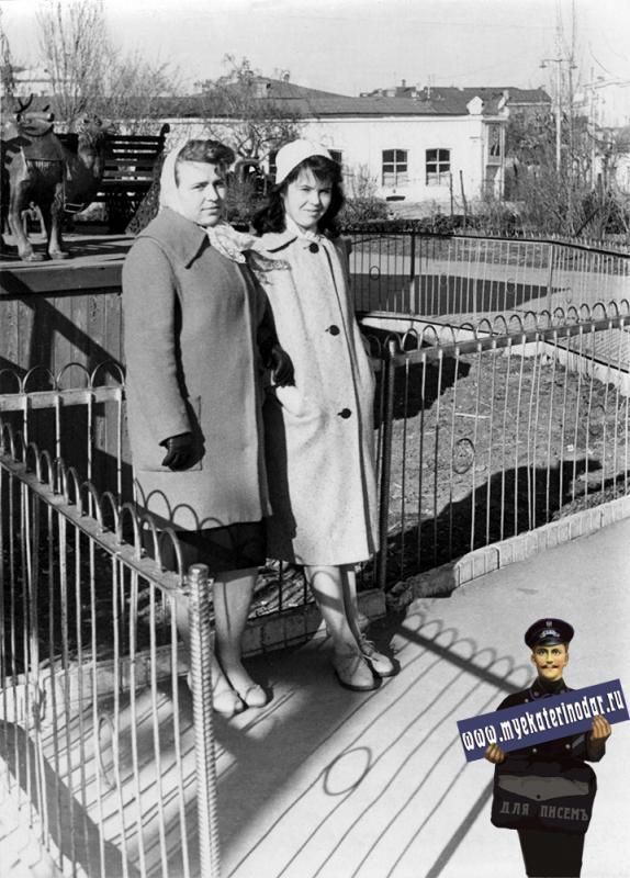 Краснодар. В детском сквере. Февраль 1961 года.